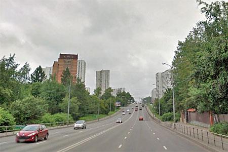 Полиция предложила разделить Панфиловский проспект отбойником