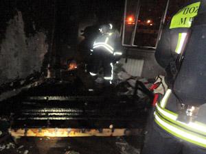 На пожаре в 14-м микрорайоне погибла женщина
