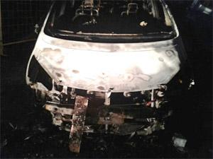 В 10-м микрорайоне за выходные сгорели три машины