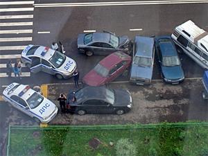 Пьяная автомобилистка протаранила пять машин