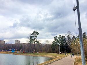 На Школьном озере появилась видеокамера для выявления утопающих
