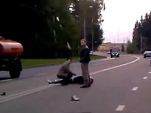 На Сосновой аллее разбился мотоциклист