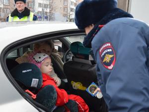 ГИБДД проведен рейд «Ваш  пассажир-ребенок»