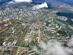 Полиция обследовала территорию Зеленограда с воздуха