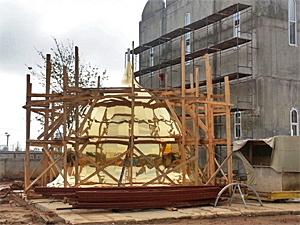 21 августа над храмом у 14-го микрорайона поднимут купол