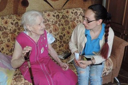 В Менделеево собирают помощь 90-летней пенсионерке из сгоревшей квартиры
