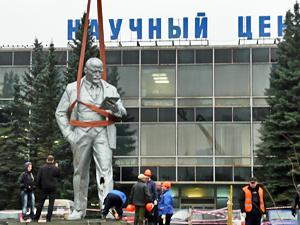 Автор демонтированного памятника Ленину запретил его копирование