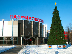ТК «Панфиловский» откроет собственный ледовый каток
