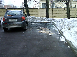 Владелица сгоревшего «Форда» воевала с соседями за парковку