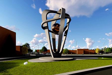 Представлены лучшие эскизы стелы «Мирный атом» студентов МИЭТа