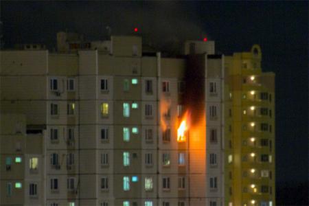 Несколько человек пострадали отпожара вквартире вЗеленограде