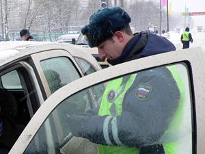 В новогодние каникулы ГИБДД задержала полтысячи нарушителей