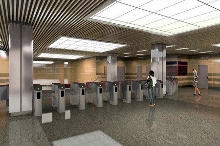 Станцию метро «Ховрино» сделают многоуровневой и дополнят мини-вокзалом