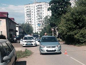 В Менделеево автомобиль сбил 10-летнего велосипедиста