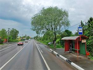 Автобусы 400К начали останавливаться в Брехово