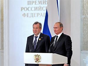 Путин вручил госпремию главе «Микрона»