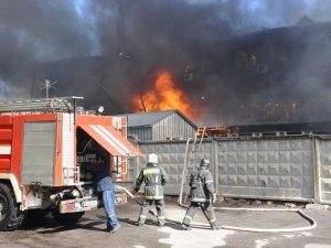 Автопарк сгорел из-за неисправной системы пожарного водоснабжения