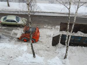 «Вывоз» снега