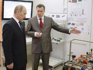 Путину подарили в Зеленограде книги