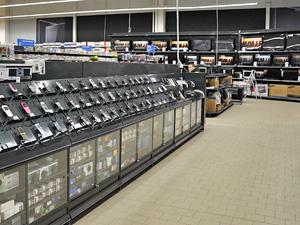 Охранник похитил из гипермаркета «Реал» два ноутбука