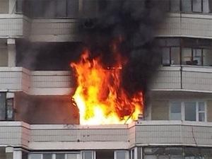 В 6-м микрорайоне сгорела квартира