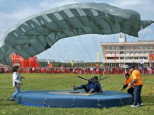 15 лучших парашютистов разыграют Гран-при 12 июня