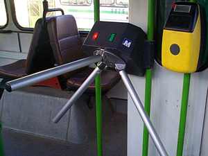 Горожан заманивают в автобусы дешевыми билетами