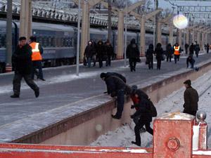 Платформы на вокзале в Москве разделят заборами