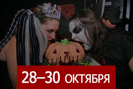 Хэллоуин, книжный фестиваль, «Собаки Качалова», «РИТМ», турнир по дзюдо, «Летучая мышь», «Тролли»