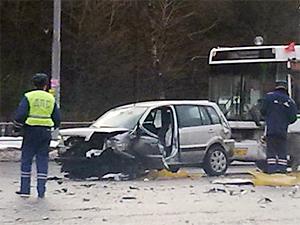 Виновник аварии у «Кафе Лесное» попал в реанимацию