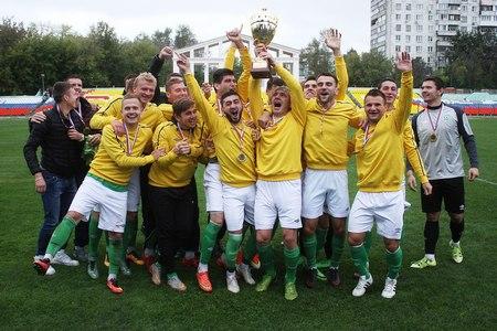 ФК «Зеленоград» выиграл Кубок Москвы в четвертый раз подряд