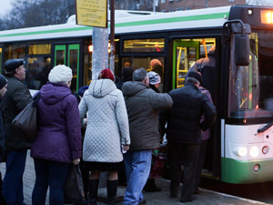 В ночь на 1 января продлевается работа шести автобусных маршрутов
