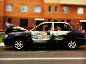 Ночью в Зеленограде сожгли три машины