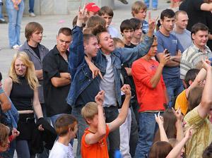 День молодежи продолжат праздновать на Михайловском пруду