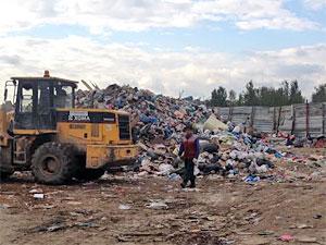 У деревни Горетовки закрыт незаконный мусорный полигон