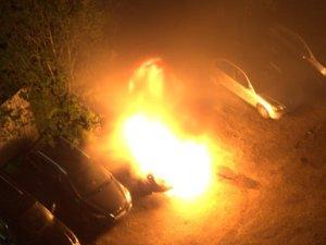 В Андреевке сгорели два автомобиля