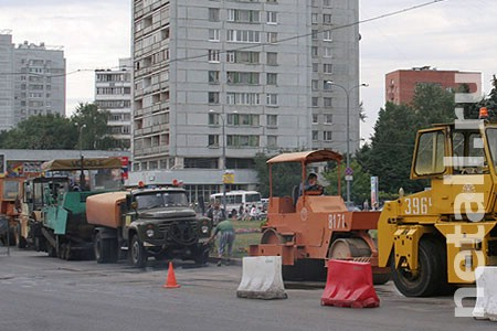 В 2016 году полностью отремонтируют улицу Андреевку, Центральный и Георгиевский проспекты
