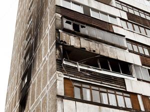 На пожаре в Менделеево погиб человек