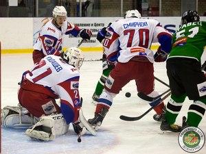 ХК «Зеленоград» обменялся победами с «Локо-Юниором» в серии до трех выигранных матчей