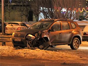 В аварии на улице Логвиненко пострадал 6-летний ребенок