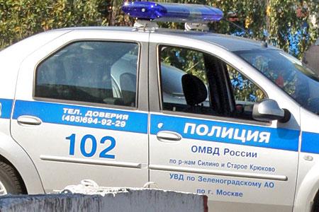 Пьяный полицейский устроил несколько ДТП в Зеленограде