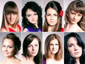Финалистки «Мисс МИЭТ 2012»
