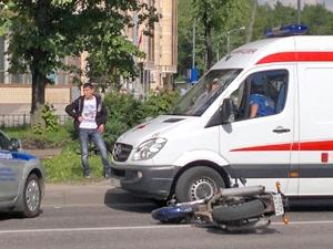 ГИБДД уточнила обстоятельства ДТП с пострадавшим мотоциклистом
