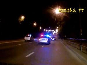 На участника ночной полицейской погони выписали девять протоколов
