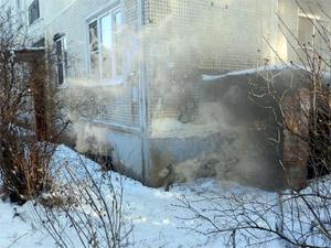 В сгоревшем подвале дома в Менделеево обнаружен труп
