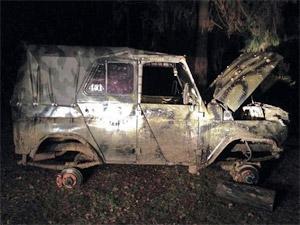 Один из угнанных тюнингованных УАЗов найден под Зеленоградом
