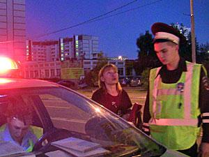 Пьяная автомобилистка врезалась в ограждение у Зелрайсуда