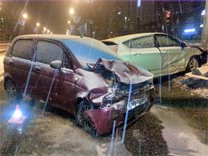 В аварии на Панфиловском проспекте пострадал младенец