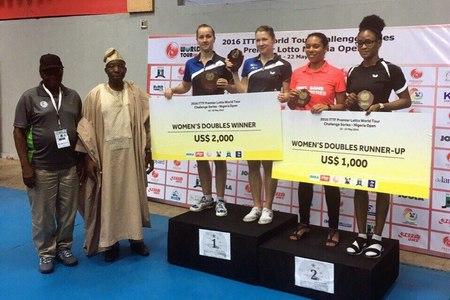 Зеленоградка выиграла международный турнир по настольному теннису в Нигерии