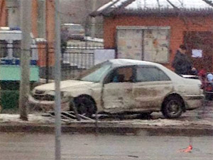 В аварии у отдела МВД в 15-м микрорайоне пострадала автомобилистка